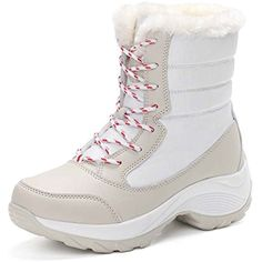 Women Cotton Boots Plus Cashmere Leather Snow Boots Travel Shoes >>> Read more reviews of the product by visiting the link on the image. (This is an affiliate link and I receive a commission for the sales) #Outdoor