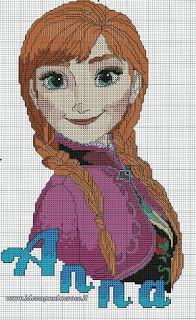 40 Disney Cross Stitch Charts Free from Cross Stitch Charts You may then choose which sides of the cell you're in you desire to get an outline. Cross stitch charts tell you whatever you want to learn about a cross Disney Cross Stitch Patterns, Cross Stitch Charts, Cross Stitch Designs, Frozen Cross Stitch, Cross Stitch For Kids, Disney Stitch, Cross Stitching, Cross Stitch Embroidery, Frozen Pattern