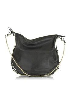 valentino garavani nappa leather and metal hobo bag #handbag #bag #accessories #designer #valentino #covetme
