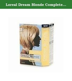 Loreal Dream Blonde Complete Color System - #9 Moonbeam Shine. Superior Preference Dream Blonde is the most complete Color & Care system designed especially for blondes. Superior Preference Dream Blonde combines breakthrough conditioning technology with anti-brass actives to ensure beautiful layers of color and light for the most ethereal blonde. The salon inspired haircare regimen protects color with anti-oxidants and dual UV filters. Helps to defy fade out for brilliant color and silky…
