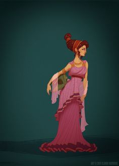 Disney Princesses in Accurate Period Outfits