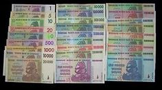 Up for sale are 27 Zimbabwe banknotes-The full Trillion series set. Zimbabwe, Coins, App, History, Funny, Money, Coining, Rooms, Apps
