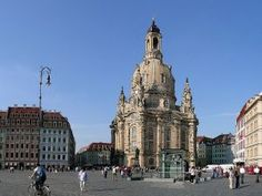 The Church of our Lady (Frauenkirche) at the Neumarkt in Dresden