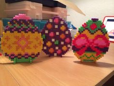 Easter eggs hama perler beads by Susse Cevin