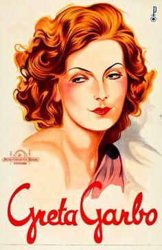 Greta Garbo poster.
