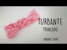 Turbante de cabelo trançado - DIY - YouTube