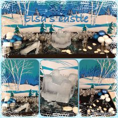 More Frozen fun - Elsa's castle