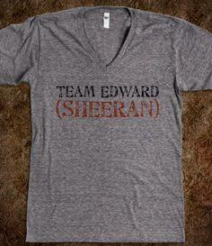 Team Edward (Sheeran)