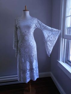 Vintage 1960s 1970s Runway Sheer Cut Out TWO by bluebarnvintage, $129.95