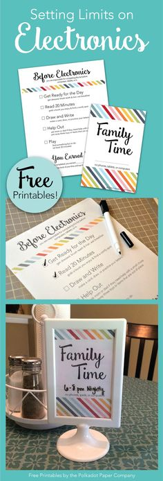 Regulating screen time is a real parenting struggle! Have your kids earn their screen time with our free printables!