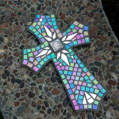 Ecce homo mosaic cross