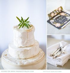 The most amazing cheese wedding cake! #love