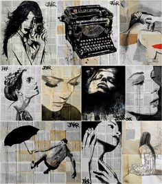 <p>Loui Jover lives in Queensland, Australia, and his work consists of drawings featuring ink and recycled paper. His drawings are a reaction to the nostalgic need of staying connected to the ideal of youth and they are an encouragement to look inward, rather than outward. Loui also confesses his work …</p>