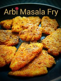 Arbi Masala Fry Arbi Masala Fry is a scrumptious side dish recipe made with boiled and shallow fried Taro roots. I believe this recipe is one of the best recipe to test your culinary skills. Today's recipe is a must try recipe for Arbi lovers. Taro Recipes, Veggie Recipes, Fish Recipes, Indian Food Recipes, Vegetarian Recipes, Snack Recipes, Cooking Recipes, Bengali Veg Recipes, Vegetarian Cooking