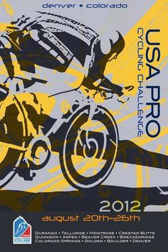 Designed by Robb Reece for the 2012 USA Pro Cycling Challenge - Denver, Colorado