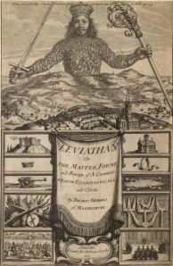 Thomas Hobbes - Leviathan, frontispicio