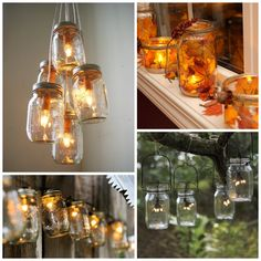 Lanterns and lights are crafted into amazing containers of sparkle.