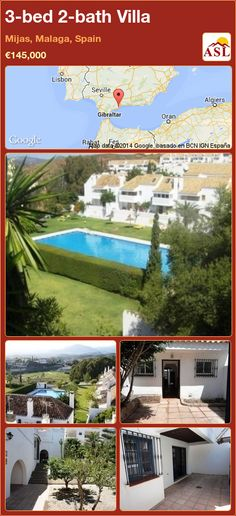 3-bed 2-bath Villa in Mijas, Malaga, Spain ►€145,000 #PropertyForSaleInSpain