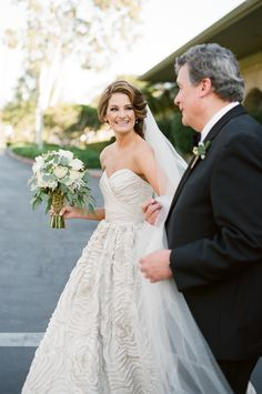 stunning bride look for your own elegant wedding inspiration