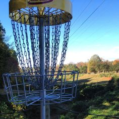 Playing a round of Disc Golf