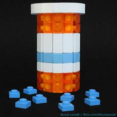 LEGO Pill Bottle... you know, for when you are playing legos with the kids. LOL