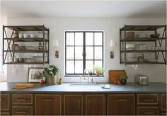kitchens without cabinets - Google Search