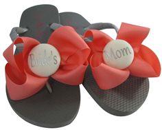 a19a40946b1d1 bridesmaid flip flops wedding flip flops bridal ivory maid honor flower  girl wedge mother bride or groom platform white 3 inch flat beach sandals  shoes ...