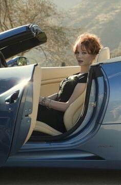 Lady in Maserati