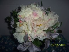 Bridal Floral Wedding Bouquet Beautifully by NAESBARGINBASEMENT, $29.00