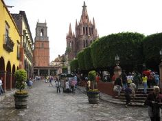 SAN MIGUEL DE ALLENDE, MEXICO - This is where I took Adria for her first Mexico vacation when she was 1 1/2 years old and again when she was 6