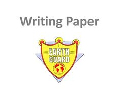 Earth Guard Writing Paper Solar System Worksheets, Writing Paper, Thankful, Earth