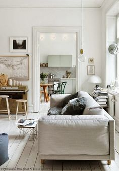 The beautiful home of Emma Persson in Sweden. Read on www.karinecandicekong.com