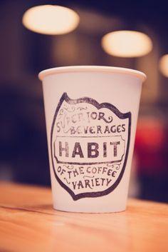 Habit coffee cup
