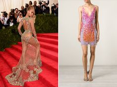 Channel Beyonce with this embellished dress.
