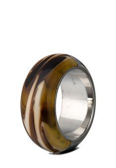 Esprit Jewel Ring, Edelstahl, braun/silbern Jetzt bestellen unter: https://mode.ladendirekt.de/damen/schmuck/ringe/silberringe/?uid=7ed3b99a-0bc5-5770-a5b3-159809d54705&utm_source=pinterest&utm_medium=pin&utm_campaign=boards #schmuck #ringe #bekleidung #silberringe Bild Quelle: brands4friends.de