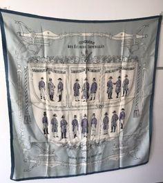 2020 beste afbeeldingen van DIJN LOVES HERMES - Hermes scarves, Silk ... d8d073f12ea