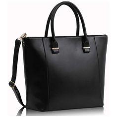 FC Select Vegan Bags Vegan Anthia Tote Bag ($54) ❤ liked on Polyvore featuring bags, handbags, tote bags, purses, bolsas, torbe, vegan leather tote bag, hand bags, faux leather tote and tote purse