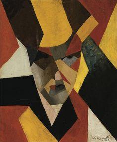 René Magritte · Self Portrait · 1923 · Unknown location