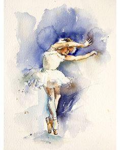 Watercolorist: @alisakalinova #waterblog #акварель #aquarelle #drawing #art #artist #artwork #painting #illustration #watercolor #aquarela