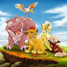 The Lion Guard: Simbas a granddaddy!!!!the new addition to the family coming to soon to Disney Jr.