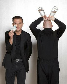 Hurts - Theo Hutchcraft and Adam Anderson