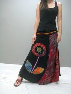 Gypsy skirt 283.2 by thaitee on Etsy, $45.00