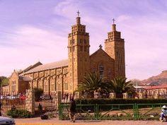 Church in Maseru, Lesotho, Africa