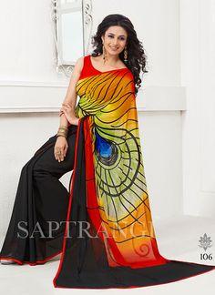 Printed Wholesale Saree  Visit: http://www.wholesalesalwar.com/sarees/catalog