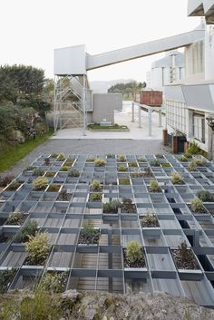 Gallery of Modular Units Create a Raised Garden Screen in this Structure in Spain - 5