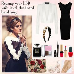 Wearing Headband Trend 2015 by redcarpetlook on Polyvore featuring BCBGMAXAZRIA, Christian Louboutin, Dolce&Gabbana, Christian Dior, Yves Saint Laurent, Napoleon Perdis, Chanel and OPI