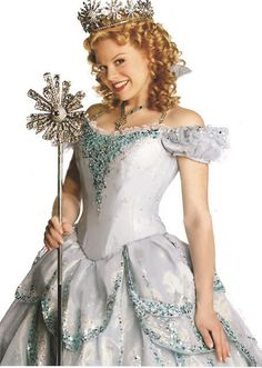 Megan hilty played the role of Glinda in 'Wicked' the Broadway musical