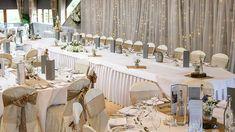 Weddings at The 4 Star Lakeside Hotel Killaloe, co. Lakeside Hotel, Clare Ireland, Wedding Gallery, Table Settings, Weddings, Table Decorations, Star, Home Decor, Decoration Home