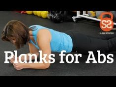 Lift Like A Girl Day 1: 3x as long as possible: How to Do Planks | Sleek/Strong With Rachel Cosgrove - YouTube