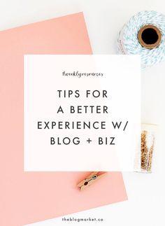 Blog & Biz Tips - Th